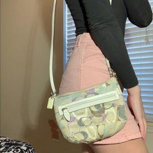 Cross body Coach purse